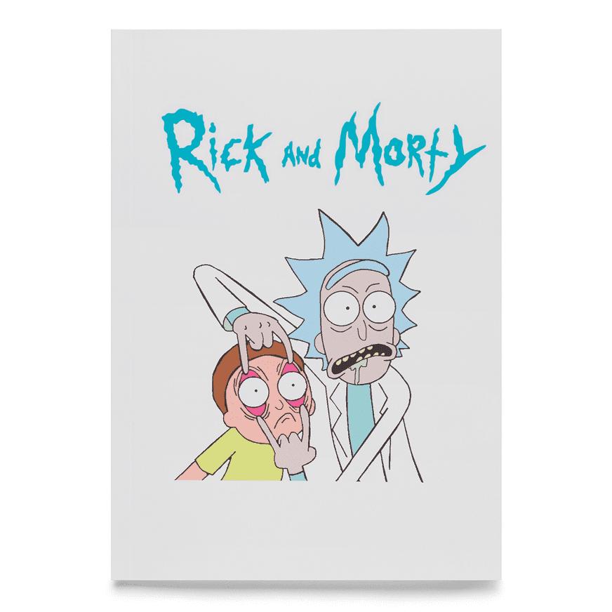 """Скетчбук """"Rick and Morty"""", купить Скетчбук """"Rick and Morty"""""""