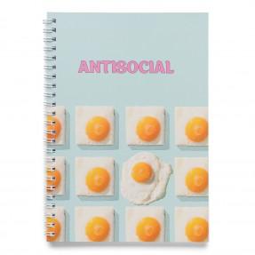 """Блокнот """"Antisocial"""", купить Блокнот """"Antisocial"""""""